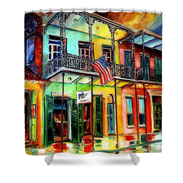 Down On Bourbon Street Shower Curtain