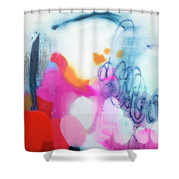 Down To Business Shower Curtain