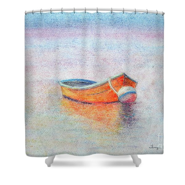 Downtime Shower Curtain