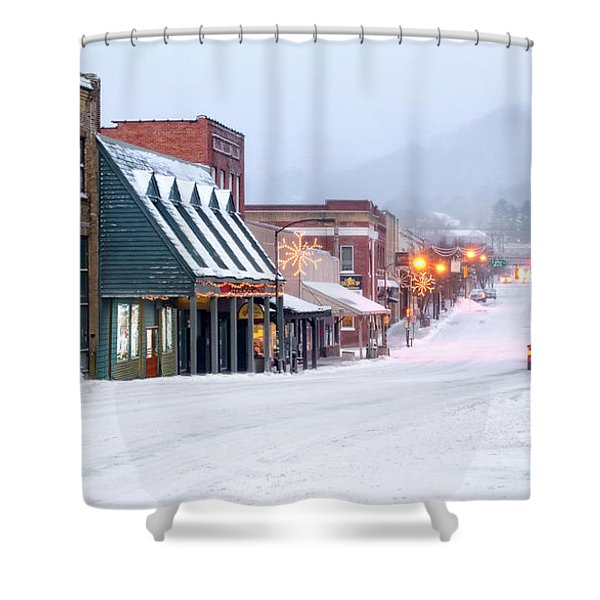 Downtown Boone Shower Curtain