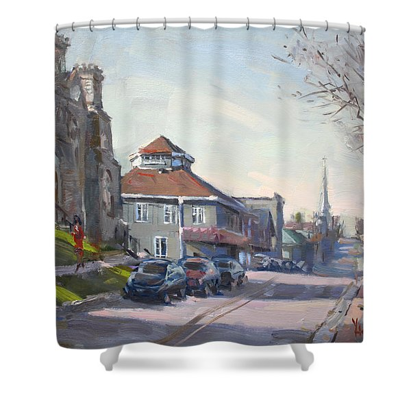 Downtown Georgetown On Shower Curtain