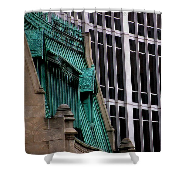 Downtown Indy Shower Curtain