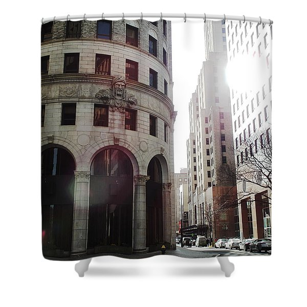 Downtown Providence Shower Curtain