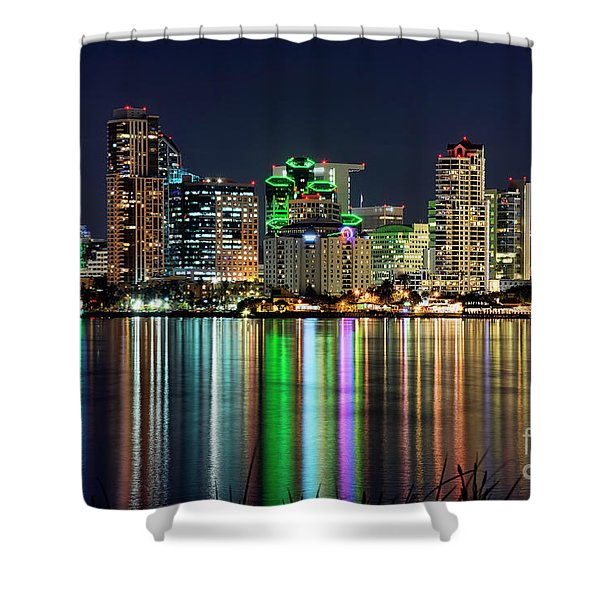 Downtown San Diego Shower Curtain