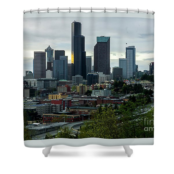 Downtown Seattle,washington Shower Curtain