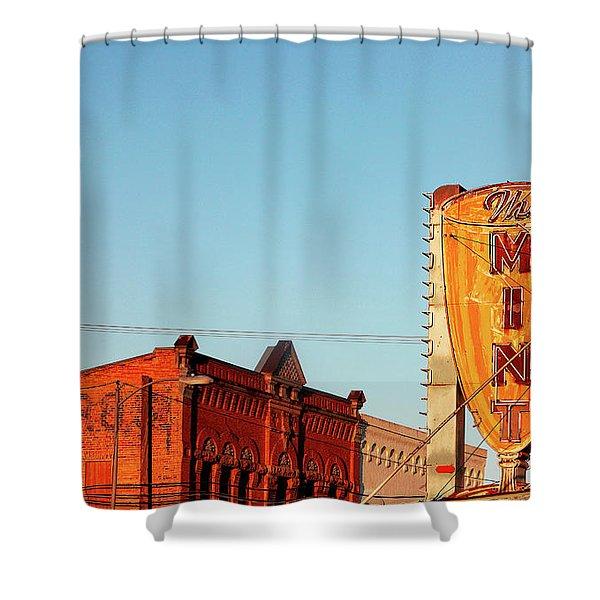 Downtown White Sulphur Springs Shower Curtain