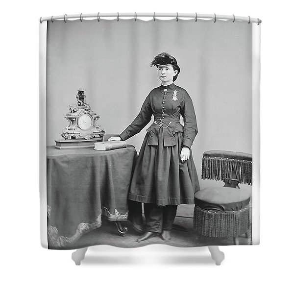 Dr. Mary Walker Shower Curtain
