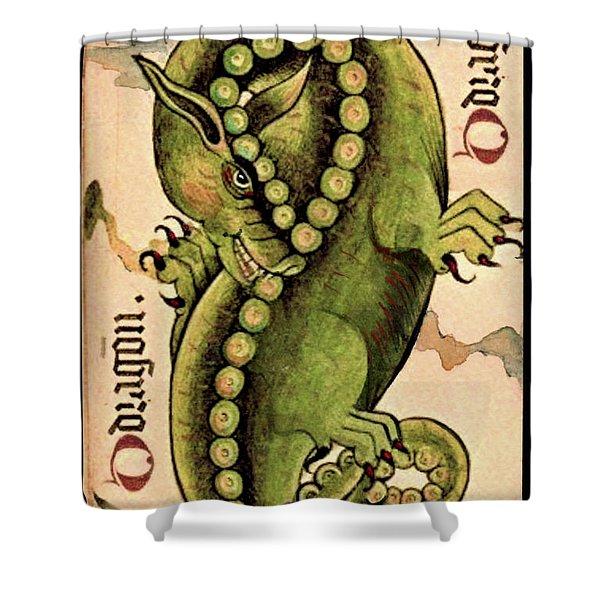 Dragon Dragon Shower Curtain