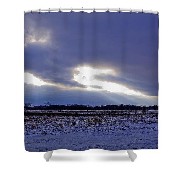 Dragon Light Shower Curtain