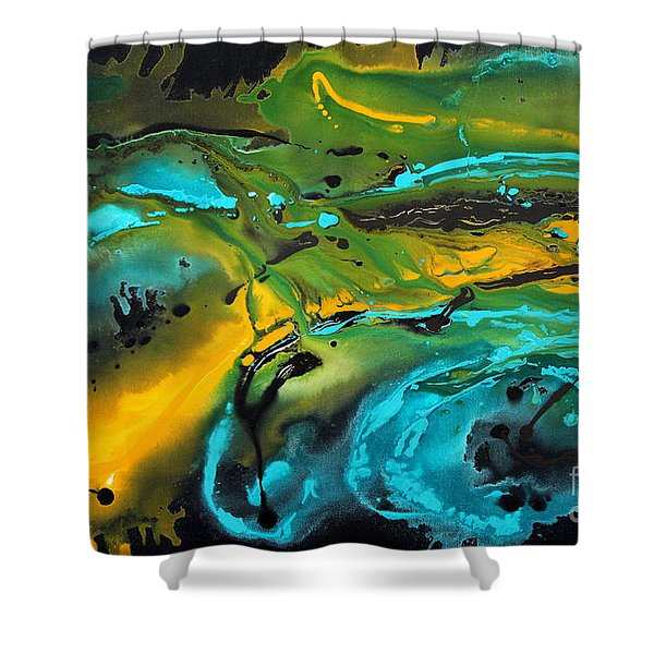 Dragon Queen Shower Curtain