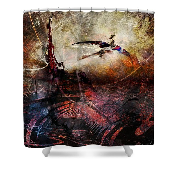 Dragon Realms Vii Shower Curtain