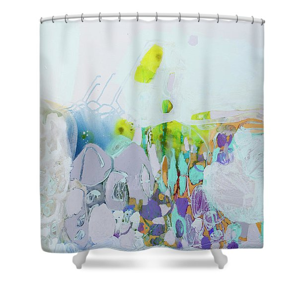 Dragonflies In May Shower Curtain
