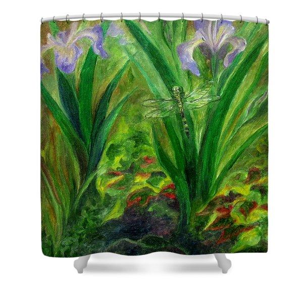 Dragonfly Medicine Shower Curtain