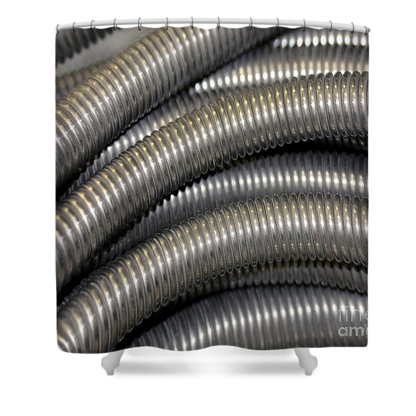 Drain Cable Shower Curtain