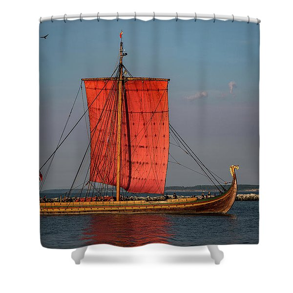 Draken Harald Harfagre Shower Curtain