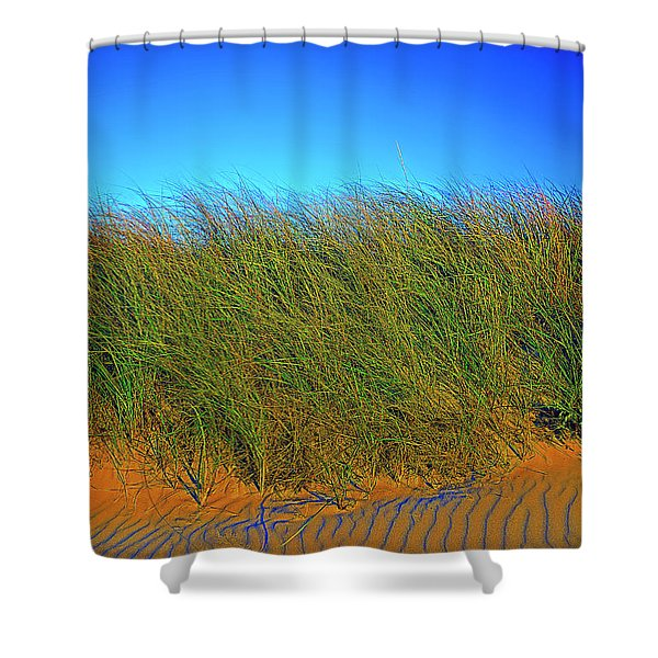 Drake's Island Beach Shower Curtain