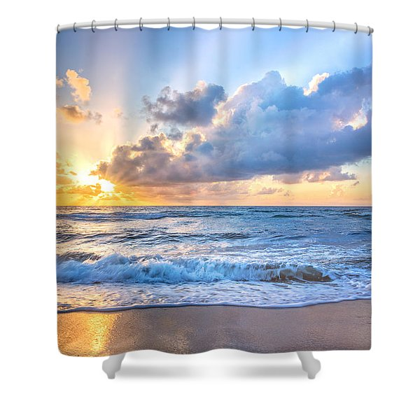 Drama At Dawn Shower Curtain