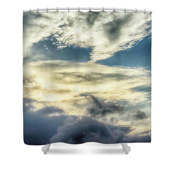 Drama Clouds Shower Curtain