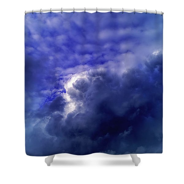 Dramatic Cumulus Sky Shower Curtain