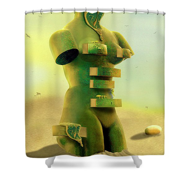 Drawers 2 Shower Curtain