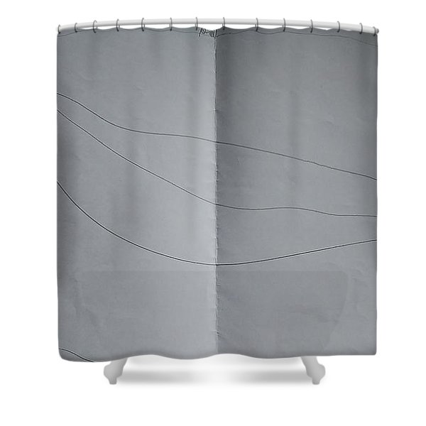 Drawing Shower Curtain