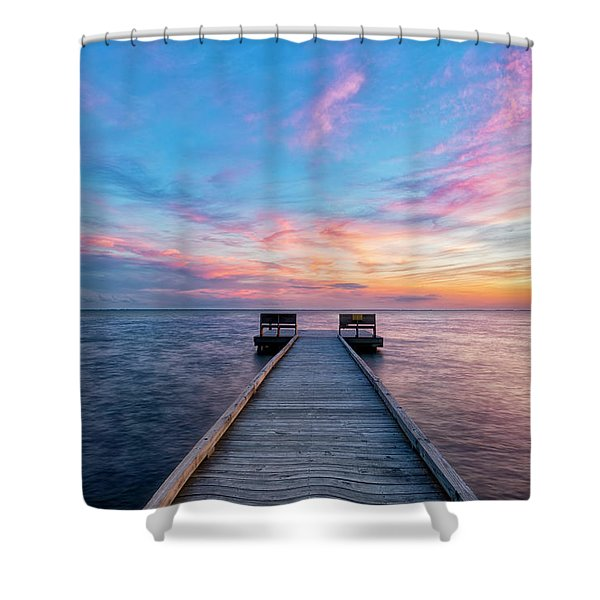 Drawn To Beauty Shower Curtain