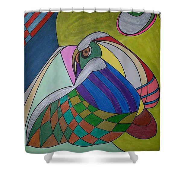 Dream 269 Shower Curtain