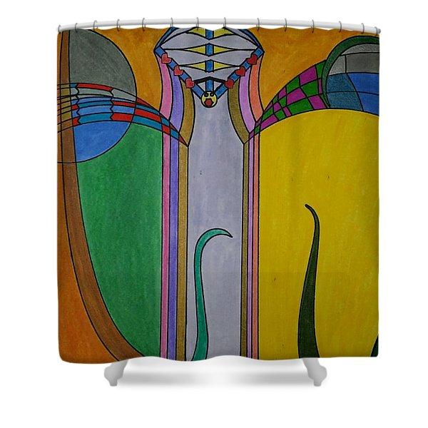 Dream 272 Shower Curtain
