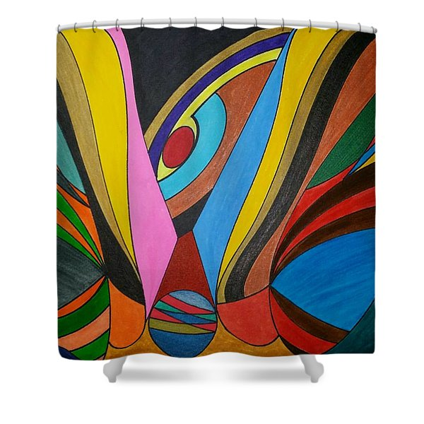 Dream 283 Shower Curtain