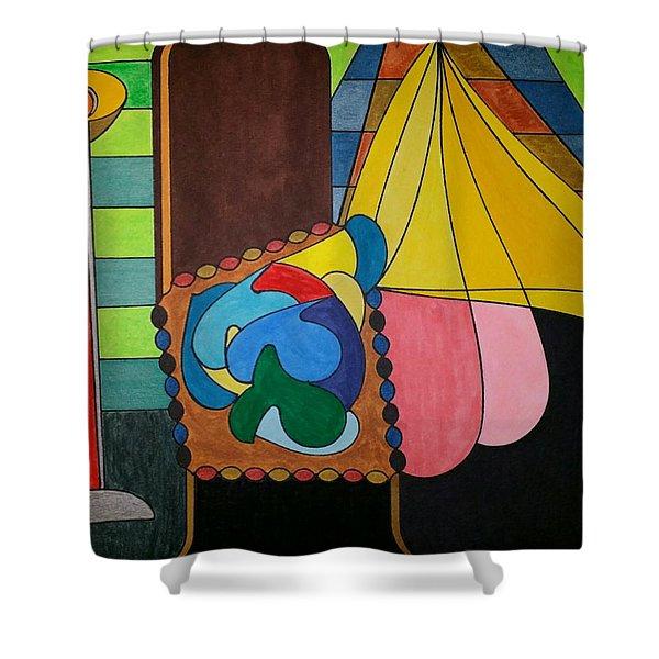 Dream 286 Shower Curtain