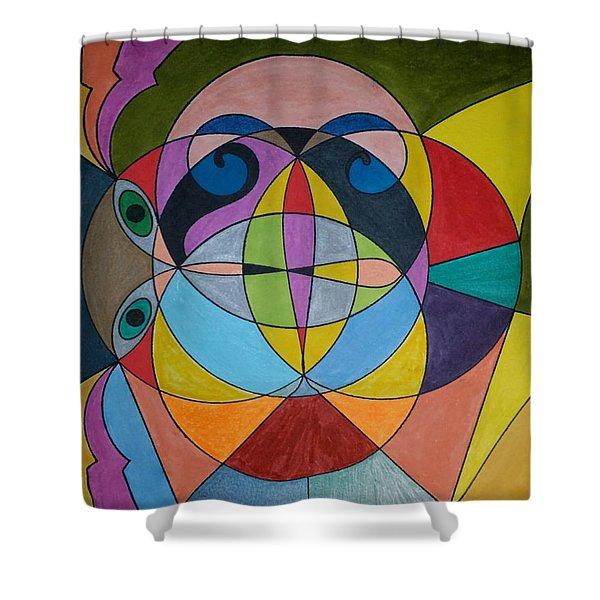 Dream 295 Shower Curtain