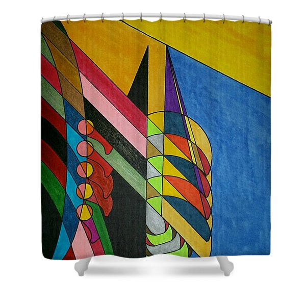 Dream 296 Shower Curtain