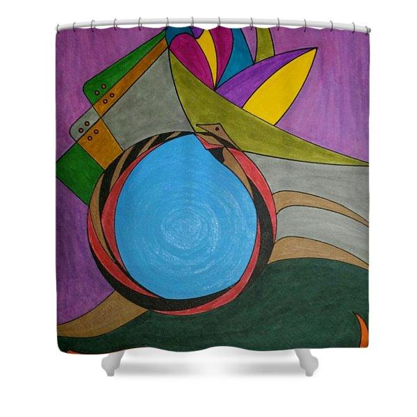 Dream 297 Shower Curtain
