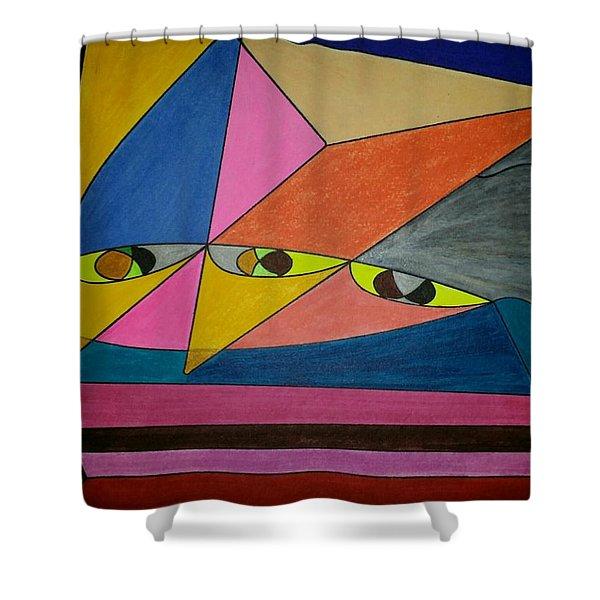 Dream 299 Shower Curtain