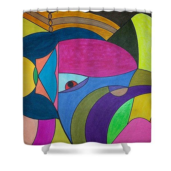 Dream 303 Shower Curtain