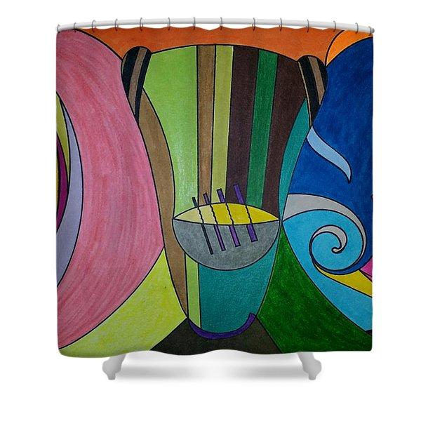 Dream 305 Shower Curtain