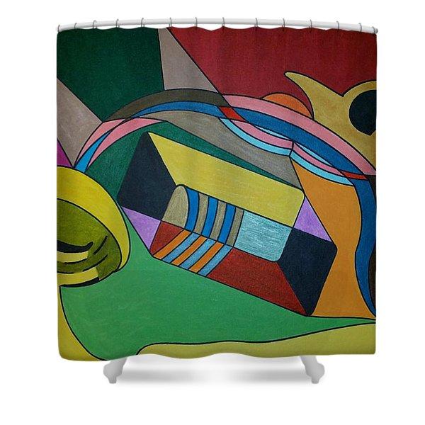 Dream 306 Shower Curtain