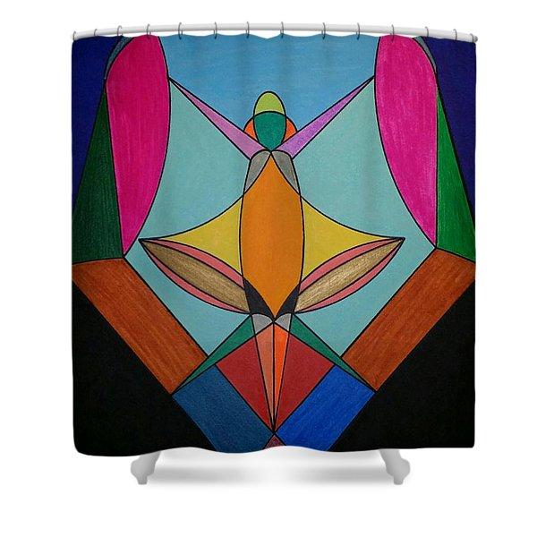 Dream 307 Shower Curtain
