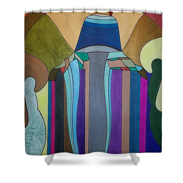 Dream 308 Shower Curtain