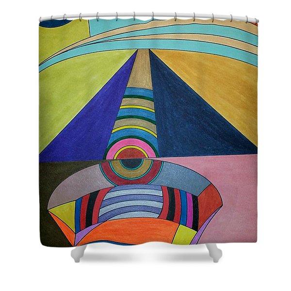 Dream 309 Shower Curtain