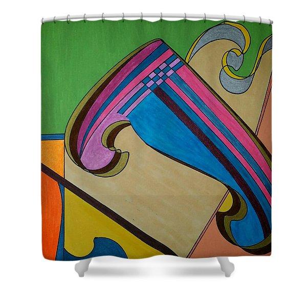 Dream 317 Shower Curtain