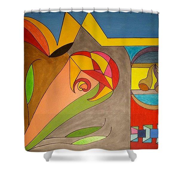 Dream 326 Shower Curtain