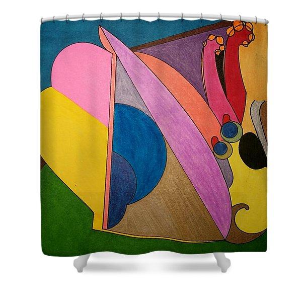 Dream 328 Shower Curtain