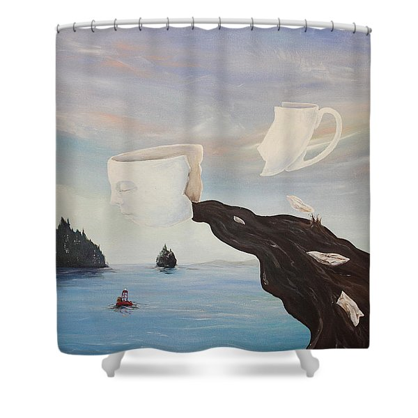Dream Commute Shower Curtain
