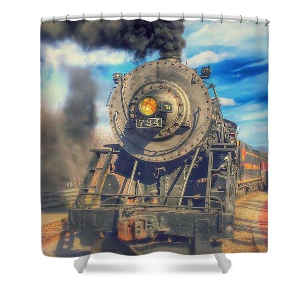 Dream Engine Shower Curtain