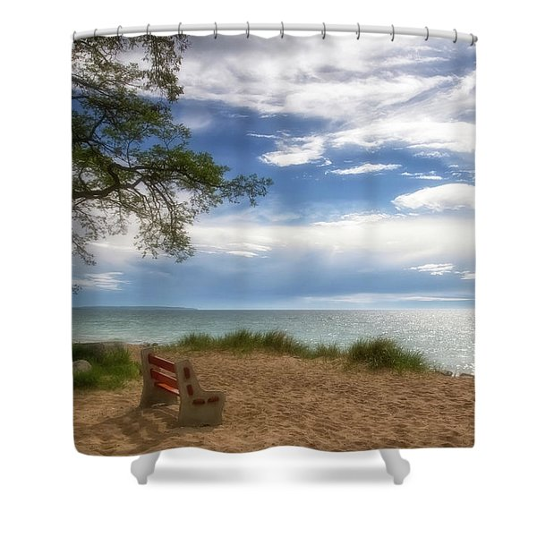 Shower Curtain featuring the photograph Dream by Heather Kenward