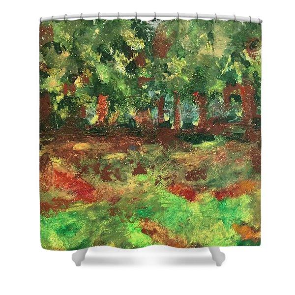 Dream In Green Shower Curtain