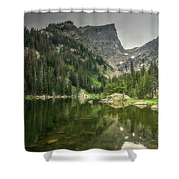 Dream Lake 2 Shower Curtain