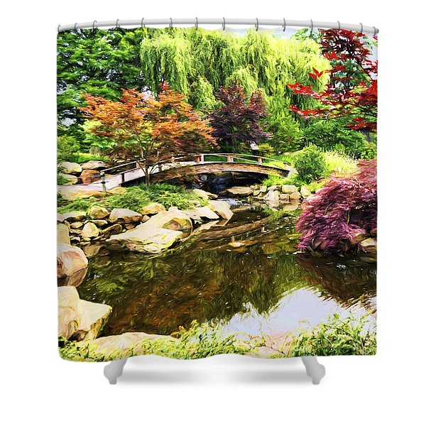 Dream Of Asia Shower Curtain
