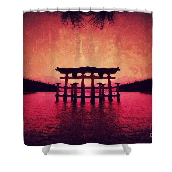 Dream Of Japan Shower Curtain